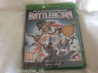 XBOX ONE BATTLEBORN GAME NEW SEALED MICROSOFT, PAL FR