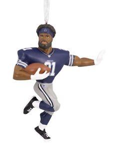 Dallas Cowboys Ezekiel Elliott Hallmark Christmas Tree Ornament NFL New In Box
