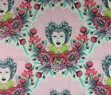 RPFFT46 TULA PINK Royal Elizabeth Floral Queen Steampunk Cotton Quilt Fabric