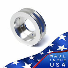 Big Block Ford Crankshaft Pulley 429 460 2V BBF Crank Underdrive Billet V-Belt