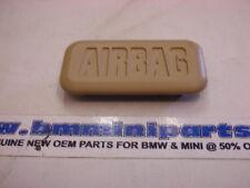 BMW E38 E39 E53 X5 Front 'Airbag' Cover Cap Sandbeige 51438226057