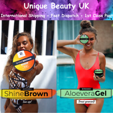 Byrokko SHINE BROWN Fast Tanning Accelerator AND/OR ALOE VERA After Sun Gel