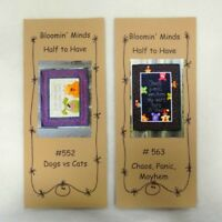 Bloomin' Minds Half to Have Applique Patchwork Quilt Pattern - FREE UK P&P