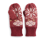 SONOMA Goods for Life Fair Isle The Supercozy Mittens, MSRP $24