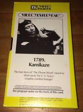 Video Yesteryear: Kamikaze - Japanese WWII War Film - VHS + FREE DVD Wolff 1961