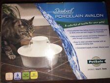 Petsafe Drinkwell Avalon White Porcelain Water Fountain EUC