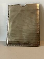 Burberry Beauty Metallic Check Case Sleeve Cover for iPad Mini Other Mini Tablet