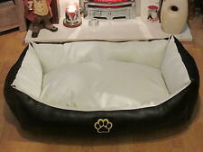 Unbranded Faux Leather Dog Beds