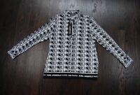 Karl Lagerfeld Paris Women's designer shirts in 2 prints $70 price tag brand new