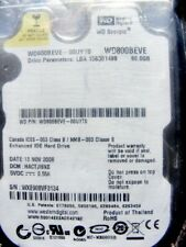 NEW Sealed Western Digital 80GB Laptop Hard Drive