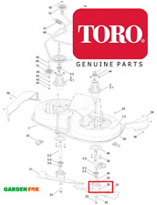 savers Genuine TORO DH140 DH210 DH220 Blade SHEAR PINS (Pair) 104-3093 1703