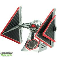 Metal Earth Star Wars Sith Tie Fighter Rise of Skywalker 3D Model Building Kit