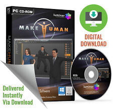 MakeHuman - Powerful 3D Human / Character Modelling Software (Download)