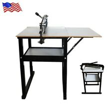 """High Quality 19.7"""" Manual Cloth Cutting Machine With Flower Knife New Listing"""