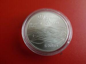 *Kanada 5 Dollars 1975 Silber (24,3g.)*Olympia Montreal 1976 (2) (KOF.7)