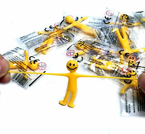1 6 12 24 STRETCHY SMILE MEN S TOY FAVOR PARTY BAG CHRISTMAS STOCKING FILLERS