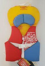 STOHLQUIST INFANT/TODDLER Orange Life Jacket Coast Guard Approved Life Vest