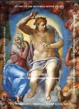 1994 Vaticano folder Restauro della Cappella Sistina MNH
