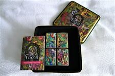 ZIPPO Coffret MYSTERIES OF THE FOREST - 4 briquets - 1995 - NEUF