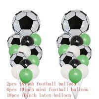 26pcs - Football Party Balloons Happy Birthday Football theme Balloons