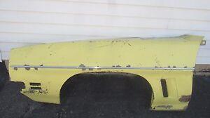 1972 Pontiac GTO LeMANS SPORT Left Side Driver Fender Original 72 Goat GT37 RARE