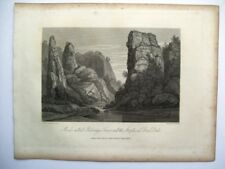 Rocks called Pickerings Tower and the Steeples in Dove Dale (publ. May 8, 1817)