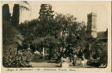 1923 Montecatini - Bagni di Montecatini Stabilimento Corretta Parco - FP B/N VG