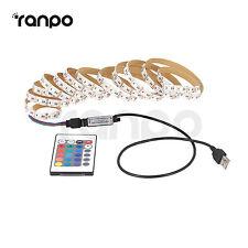 Waterproof 5V LED Light Strip TV Back Lights Ambient Lighting + USB Controller