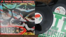 "That Petrol Emotion ORIG UK LP + Bonus 10"" Babble NM '87 Polygram Alt Rock"