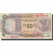 [#611283] Banknote, India, 50 Rupees, KM:84c, EF(40-45)