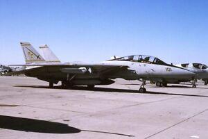 Original  colour slide   F-14A  162698/AC-101  VF-32  1995