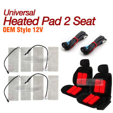 Universal Heated Pad 2Seat 12V LED Switch Hot Heater Diy Kit for SCION Car