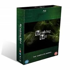 Breaking Bad - Series 1-5 - Complete (Blu-ray, 2013, Box Set)