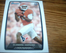 2013 Bowman DeAndre Hopkins Rookie Houston Texans #180 Football Card