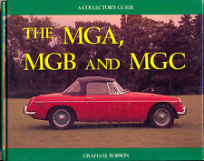 MG book MGA MGB MGC Collector's Guide - Graham Robson - book
