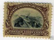 1901 8c Canal Sault Ste Marie  (SC# 298) UNUSED OG H