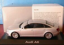 AUDI A6 2.2 2004 SILVER MINICHAMPS 1/43 ARGENT SILBER SALOON BERLINE 1:43 NEW
