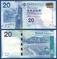 HONGKONG / HONG KONG  20 Dollars 2010  UNC  P.341