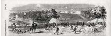 Jackson in check at White Oak Creek  -  Stonewall Jackson  -   Civil War