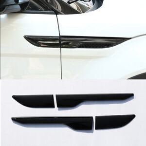 For Land Rover Range Rover Evoque 2012-2018 ABS Fender Side Air Vent Cover 4pcs