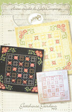 Quilt Pattern ~ GATEHOUSE GARDENS ~ by Acorn Quilt & Gift Company
