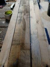 50 reclaimed wooden stick slats