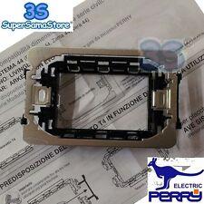 3S Perry 1PAT004 - Adattatore di compatibilità placche per termostati da incasso