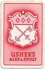 Ushers of Trowbridge Playing Cards Single - Usher's Ales & Stout