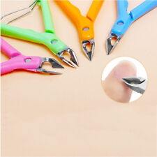 Cuticle Nipper Plier Cutter Nail Art Clipper Manicure Stainless Steel
