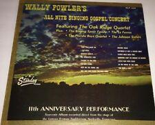 Wally Fowler's All Nite Singing Gospel Concert Vinyl LP 22E