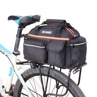 Bicycle Cycling Pack Carrier Bag Rack Trunk Rear Seat Pannier Bike Shoulder Bag
