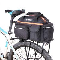 Bicycle Cycling Pack Carrier Bag Rack Trunk Rear Seat Pannier Bike Shoulder Bag