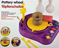 Töpferscheibe für Kinder NEU & OVP komplett mit Ton + Farben