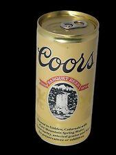 Vintage Coors Banquet Beer 12oz Aluminum Beer Can Pull Tab/PopTop Open Bottom
